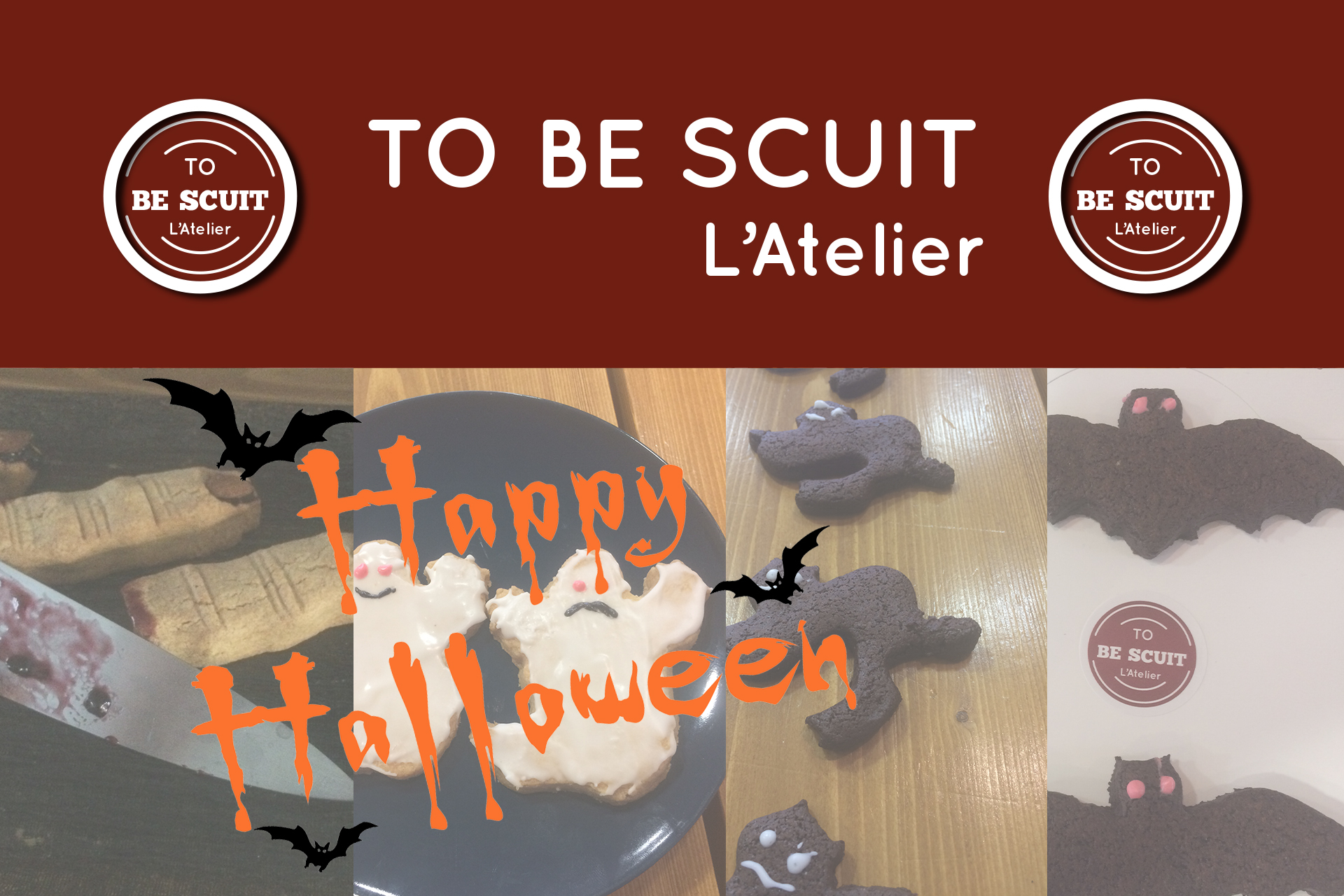 Atelier To Be Scuit Halloween